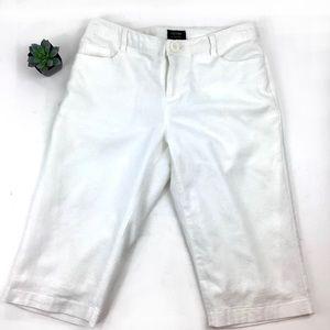 Nicole Miller Lined Bermuda Cotton 5-Pkt Shorts 4